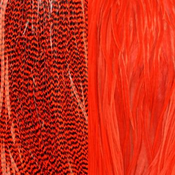 Duo Plumes Red