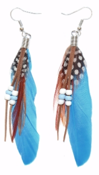 Paire de Boucles Yuma Coloris Kingfisher Blue