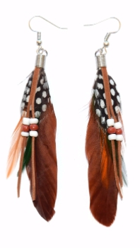 Paire de Boucles Yuma Coloris Brown